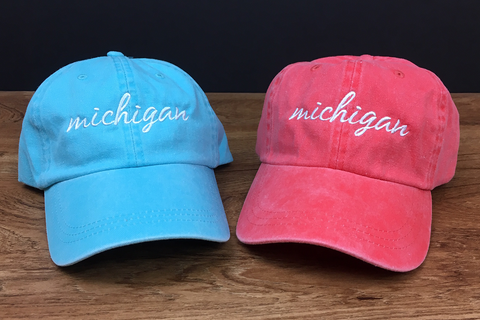 Michigan Script Hat