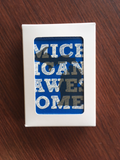 Michigan Awesome Playing Cards