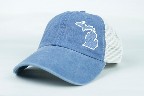 4b52b63712f Michigan Classic Trucker Hat