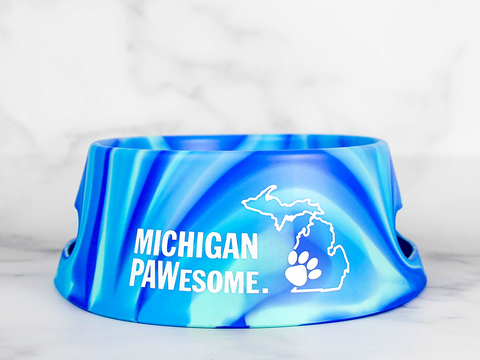 Michigan PAWesome Sili Dog Bowl