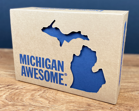 Custom Michigan Awesome Gift Box