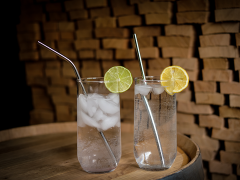 Stainless Steel Drinking Straws by The Last Straw™