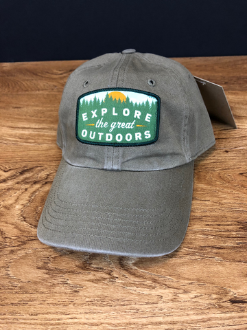 Explore the Great Outdoors Patch Hat