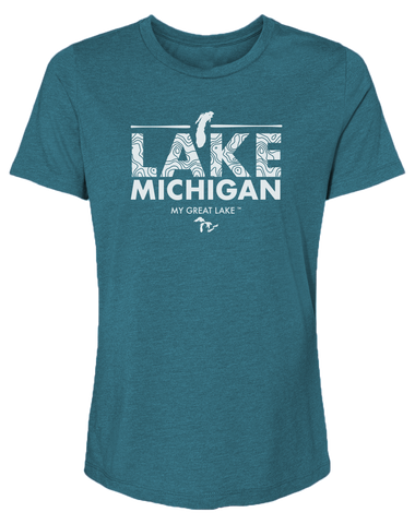 My Great Lake Michigan Women's Relaxed Fit T