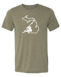 Snowmobile Michigan Unisex T-Shirt