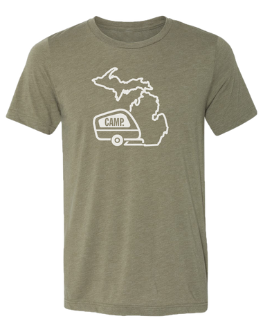 Camp Michigan Unisex T-Shirt