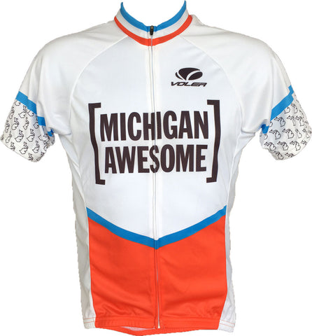 Michigan Awesome Men's Cycling Jersey NEW
