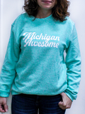 Women's Corded Crewneck Sweatshirt