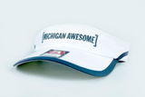 Michigan Awesome Performance Visor
