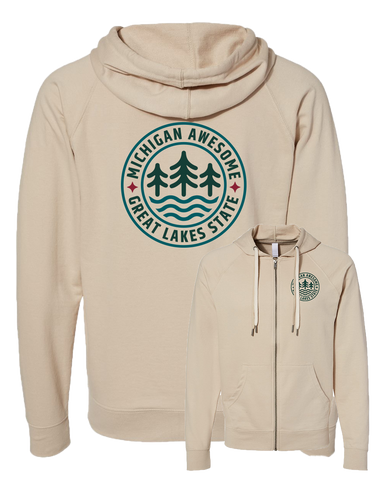 Great Lakes Icon Zip Hoodie