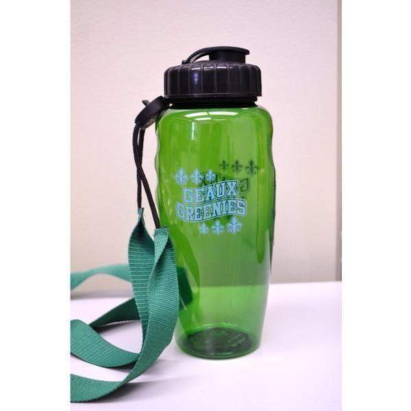 "30 oz ""Geaux Wave"" Gripper Sipper with Laso - Party Cup Express"