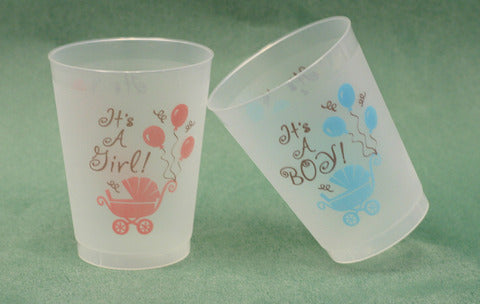 It's A Boy/It's A Girl Frost Flex Cups (25/pk)