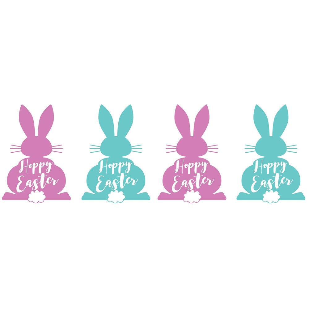 Easter Bunny Frost Flex Cups [pk/25] - Party Cup Express