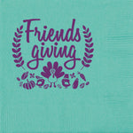 """Friendsgiving"" Beverage/Cocktail Napkins (25/pk)"