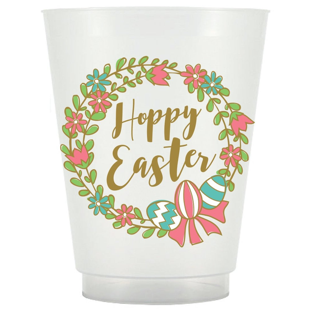 Easter Wreath Frost Flex Cups [pk/25]