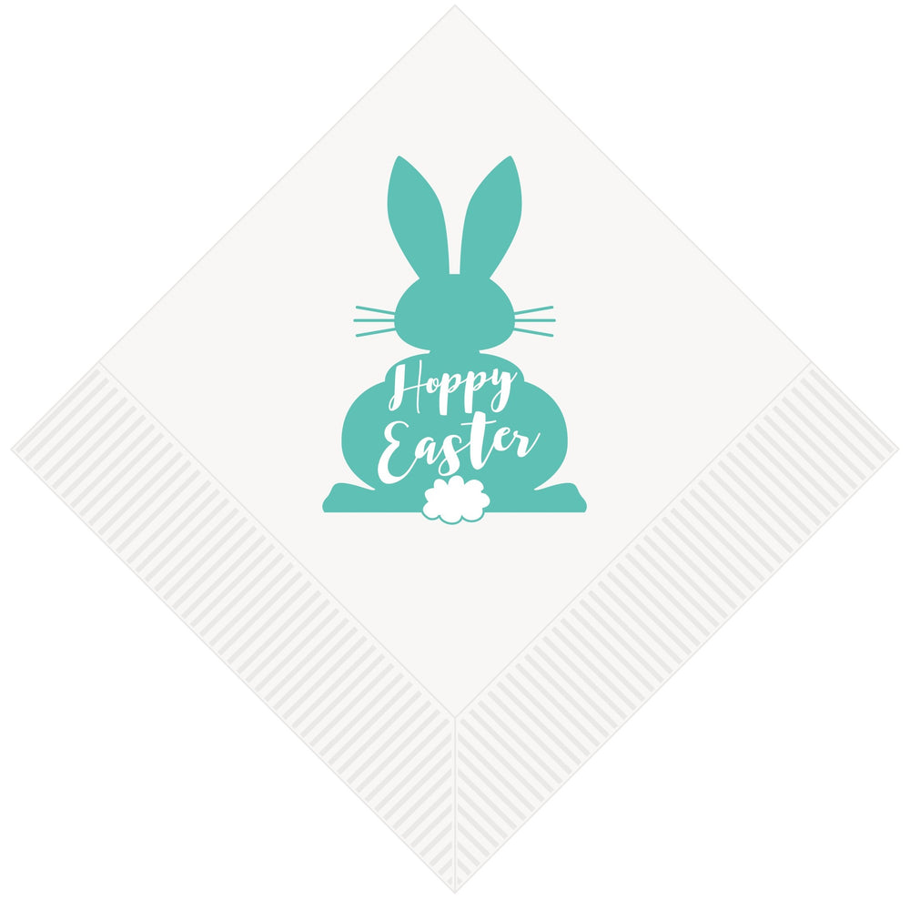 Easter Bunny Beverage Napkins [pk/25] - Party Cup Express