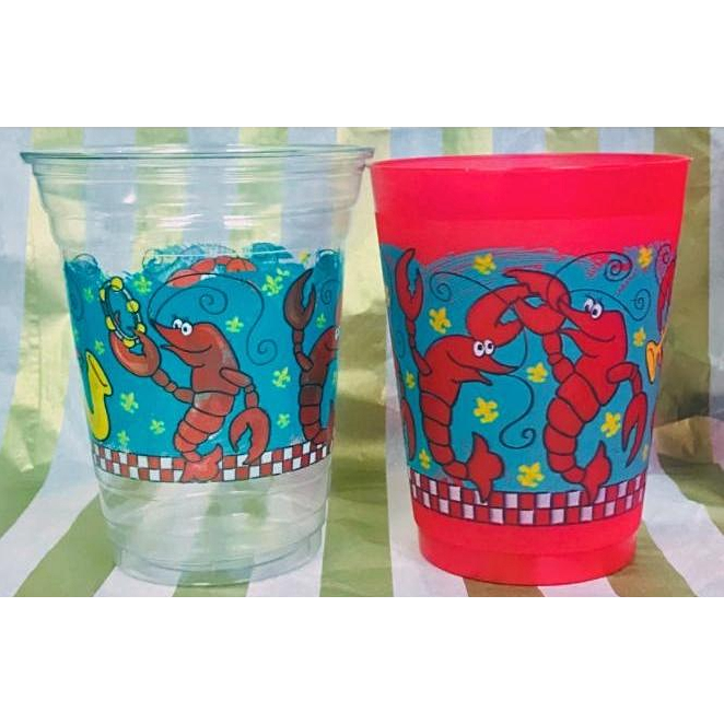 Jazzy Crawfish Cups - Party Cup Express