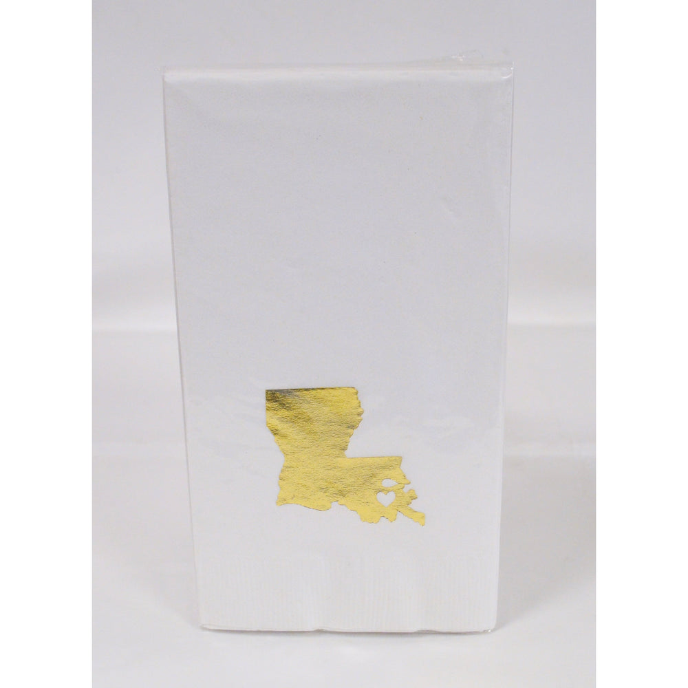 Louisiana ♥ NOLA Guest Towels - Party Cup Express