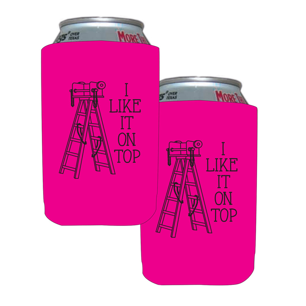 I Like It On Top Coozies (4/pk)