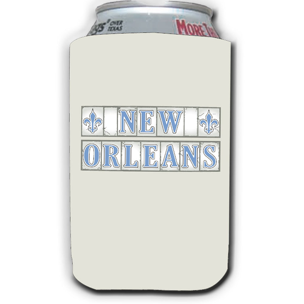 New Orleans Street Tile Can Coolers (2/pk)