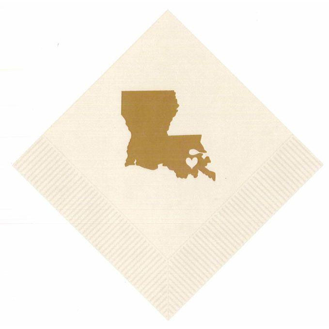 Louisiana ♥ NOLA Beverage Napkins - Party Cup Express