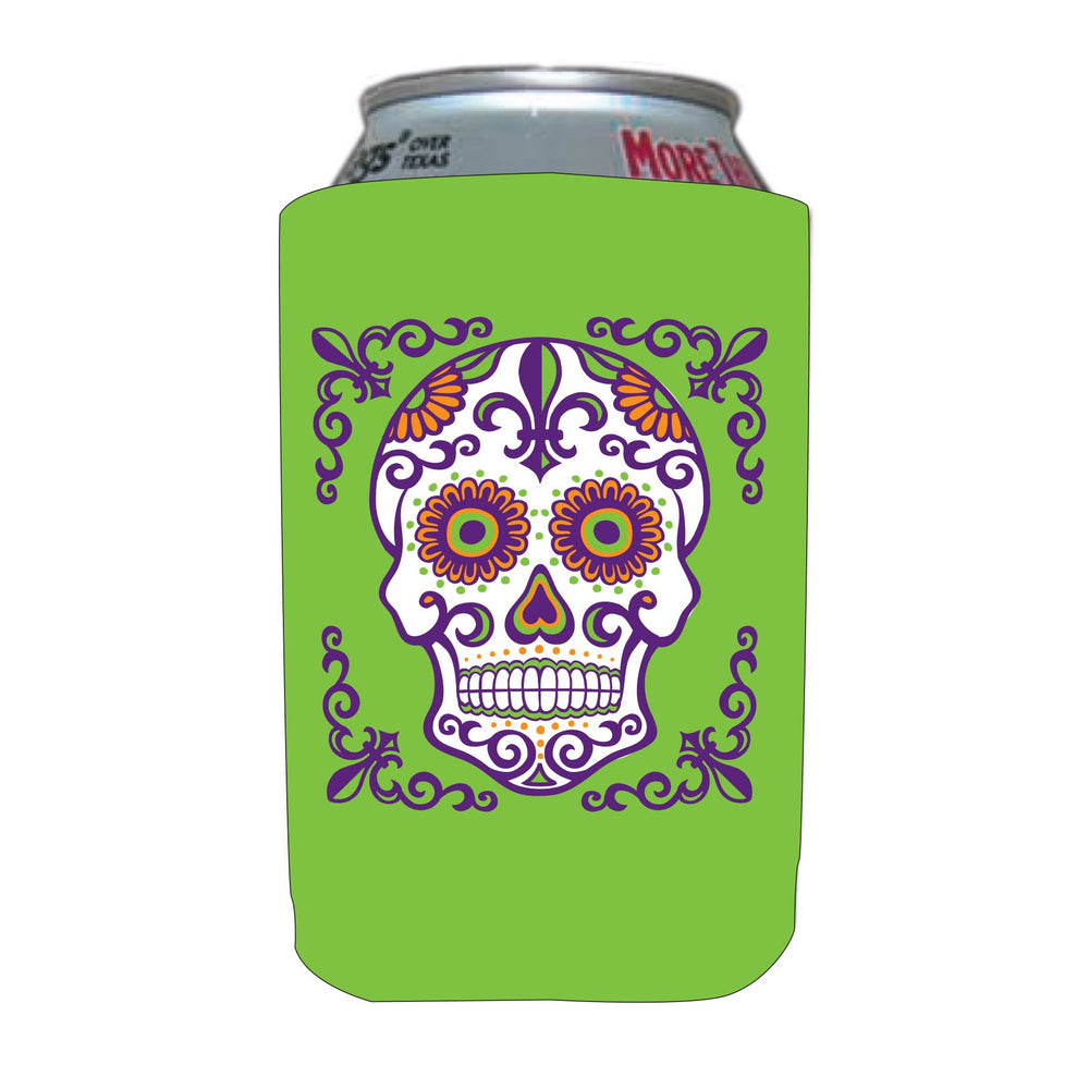 Day of the Dead Can Coolers (1/pk)