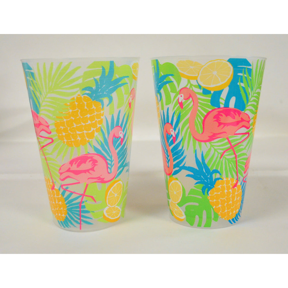 Summer Flamingo 20oz Frost Flex Cups (Pk/20)