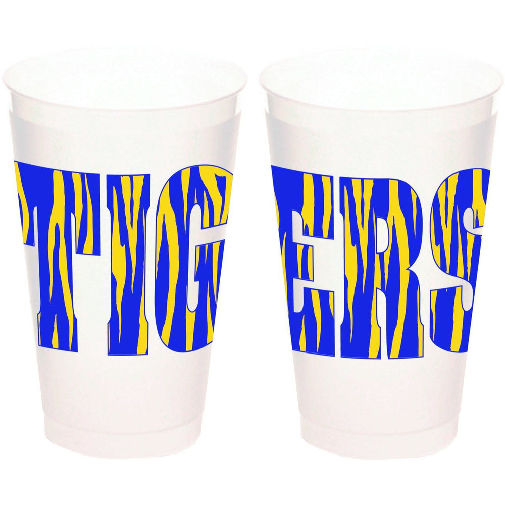 TIGERS 20oz Frost flex cups (pk of 25)