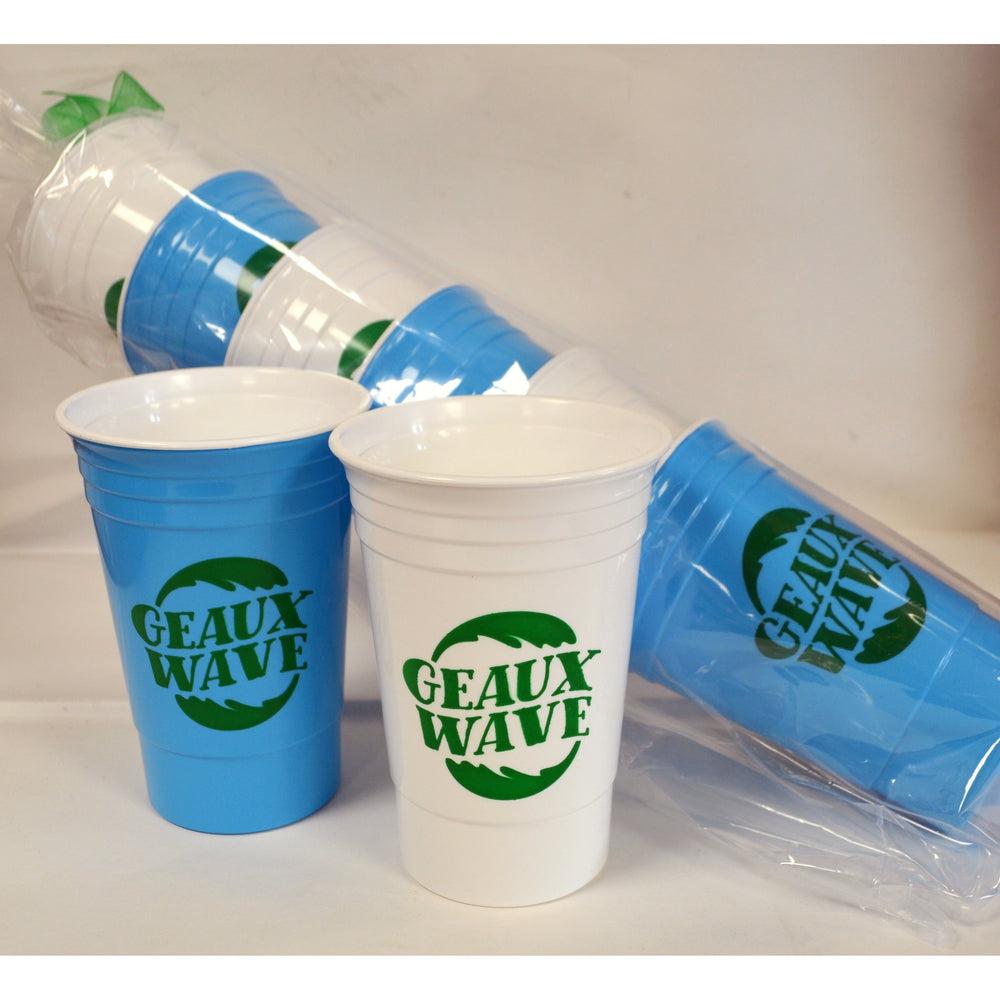 "Tulane ""GEAUX WAVE"" 16 oz Insulated Party Cups"