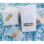 Gold Streetcar Beverage Napkins (pk/25) - Party Cup Express