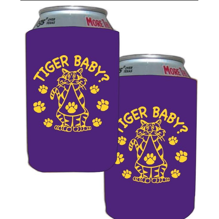 Tiger Baby Coozies - Party Cup Express
