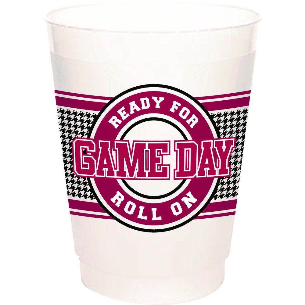 "Alabama ""Ready For Game Day, Roll On"" (pk of 25 16oz frost flex cups)"