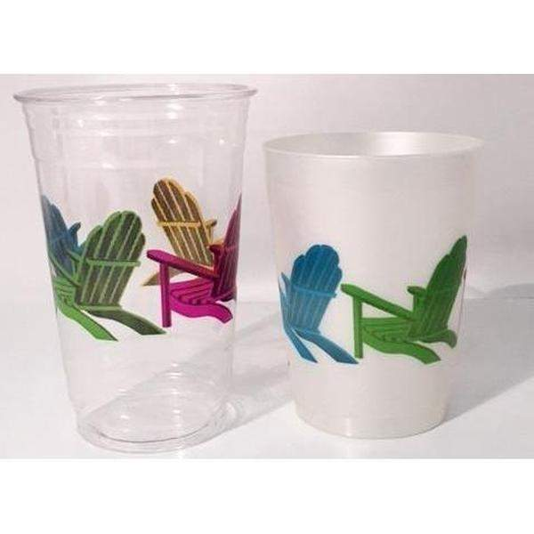 Beach Chair Cups (Pk/25 Or 50) - Party Cup Express