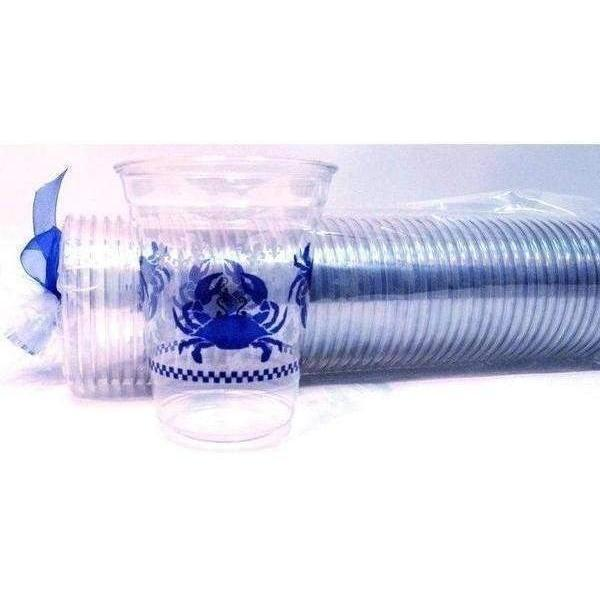 Blue Crab 16oz Disposable Cups