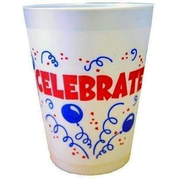 Celebrate! Frost Flex Cups (pk/25) - Party Cup Express