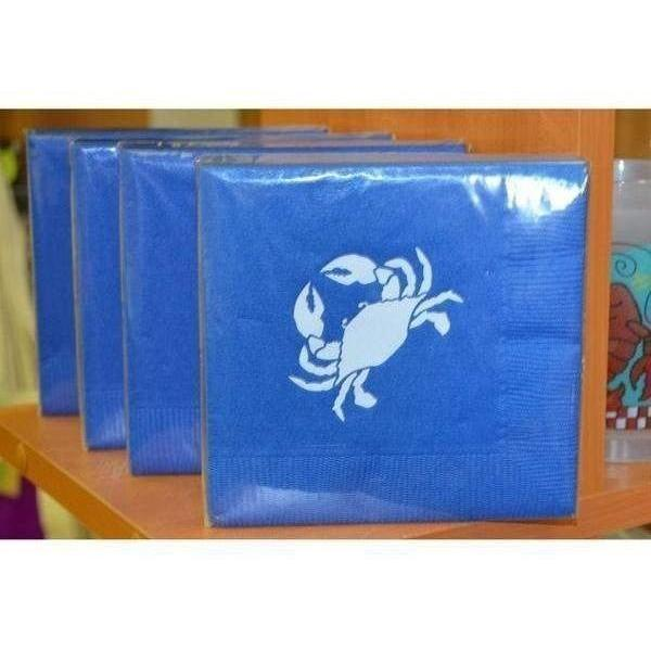 Crab Beverage Napkins - Party Cup Express