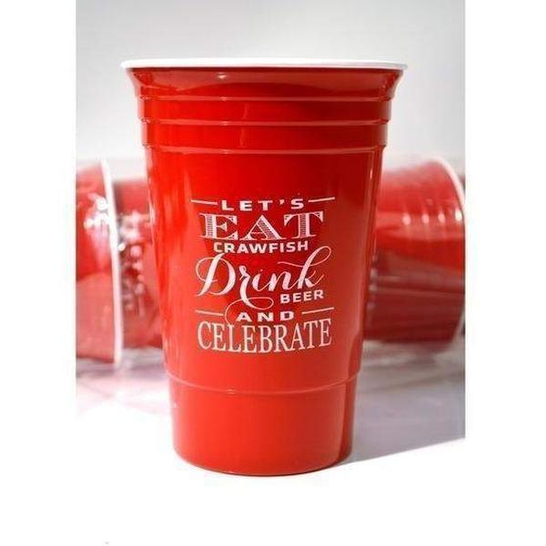 Crawfish Boil Insulated Party Cups - Party Cup Express