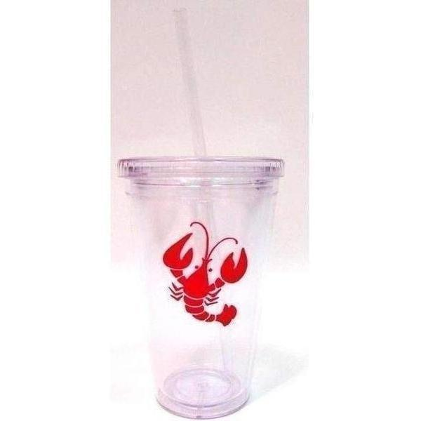 Crawfish Insulated Tumbler - Party Cup Express