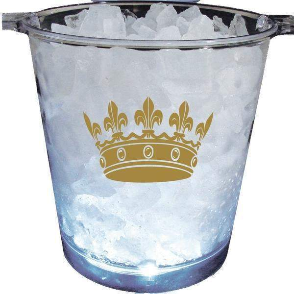 Crown Light Up Ice Bucket