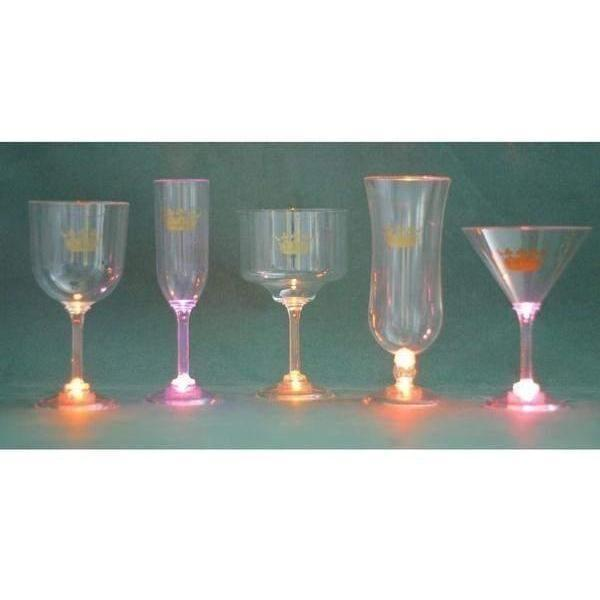 CROWN Light Up Acrylic Stemware