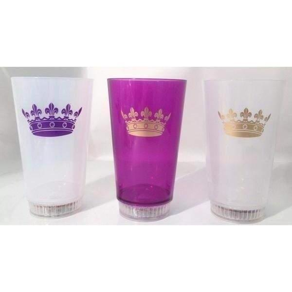 Crown Light up Tumblers - Party Cup Express