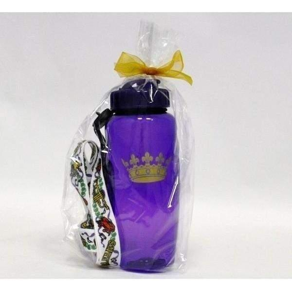 Crown Sipper Bottle with Laso & Light Up Straw - Party Cup Express
