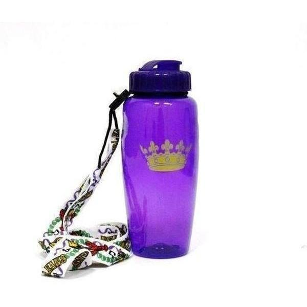 Crown Sipper Bottle with Laso & Light Up Straw