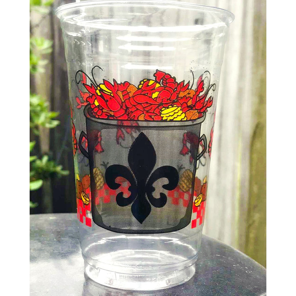Crawfish Boil Disposable Cups