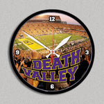 LSU Death Valley Wall Clock - Party Cup Express