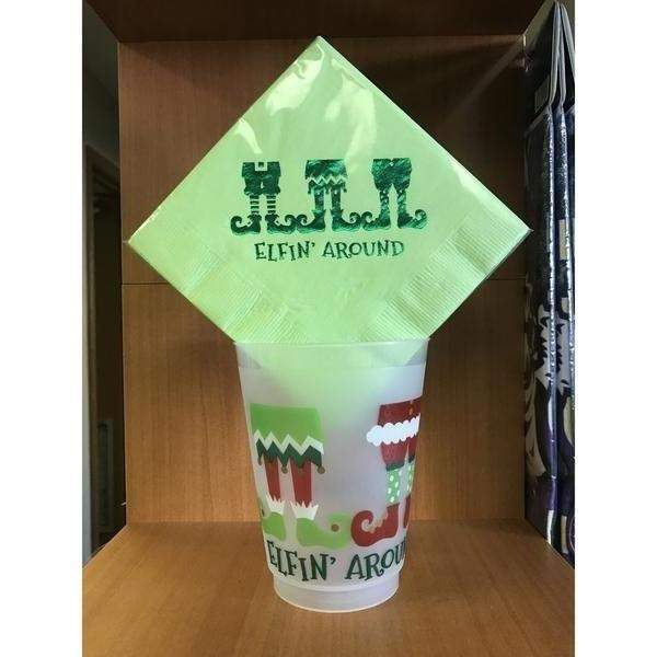 Elfin' Around Frost Flex & Disposable Cups - Party Cup Express