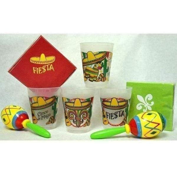 Cinco de Mayo Fiesta! Frost Flex Cups - Party Cup Express