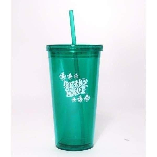 Geaux Wave Insulated Tumbler - Party Cup Express