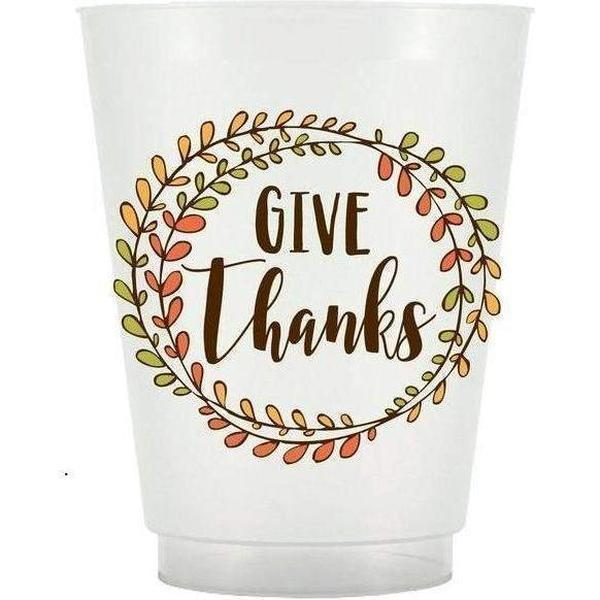 Give Thanks Frost Flex Cups