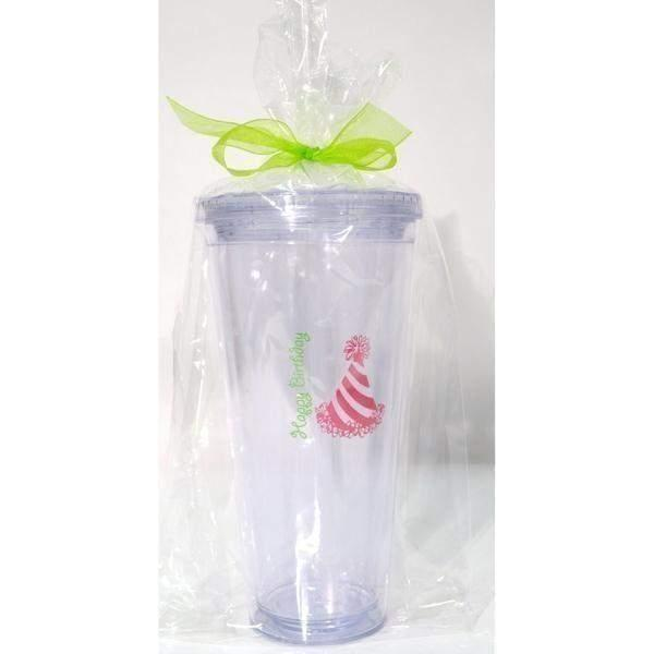 Happy Birthday 24 oz Tumbler - Party Cup Express